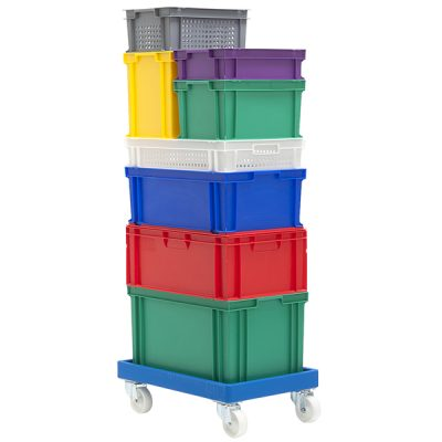 Colour Coded Euro Containers