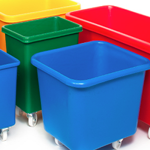 Wheeled Plastic Moulded Boxes