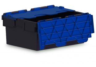 43L ALC black with blue lid