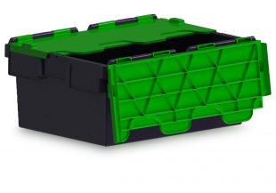 43L ALC black with green lid