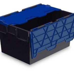 54L ALC black with blue lid